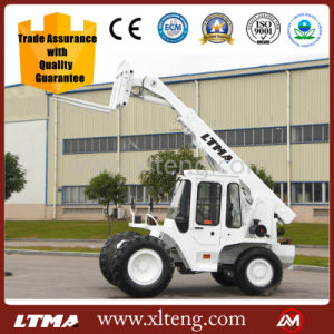 Ltma High Quality 3.5t Telescopic Boom Forklift Truck pictures & photos
