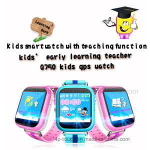 Newest 1.54′′ Colorful Touch Screen Kids GPS Tracker Watch (D19) pictures & photos