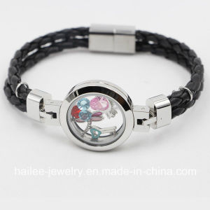 New Arrival Stainless Steel Costume Jewelry Bracelet with Locket pictures & photos