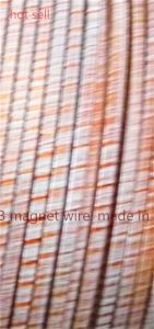 Rectangular Copper Wire Covered with Polyimide Film pictures & photos