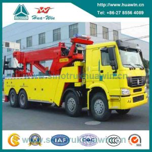 HOWO 8X4 Road Wrecker 40t/50/60/80t Emergency Towing Truck pictures & photos
