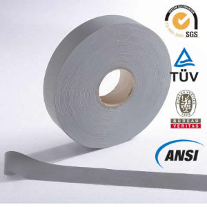 Grey T/C Reflective Tape for Safety Apparel (1101) pictures & photos