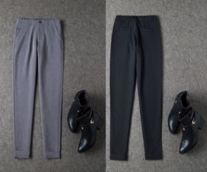 2015 High Quality Autumn Fashion Slim All-Match Women Trouser Pencil Pants Long Trouser for Wholesale pictures & photos