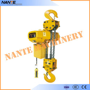 Electric Chain Hoist with Hook pictures & photos