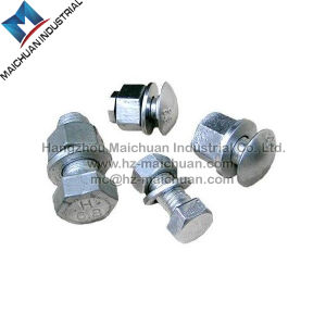 Stainless Steel Hex Bolts & Nuts Zinc Plated Hot Galvanized Hex Nut and Bolt (DIN933 AND DIN934) pictures & photos