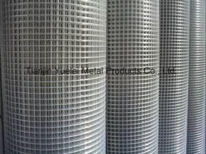 Galvanized Welded Wire Mesh, Galvanized Hexagonal Wire Mesh, Hot-Dipped Galvanized Welded Wire Mesh, Galvanized Welded Wire Mesh for Sale pictures & photos