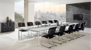 Luxury Large Meeting Room Conference Table White New Design (SZ-MT120) pictures & photos