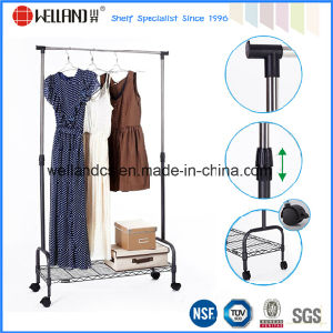 Stand Extended Metal Hanger Clothes Display Rack (CJ-B1031RE) pictures & photos