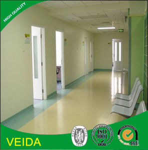 New Material Commercial PVC Vinyl Flooring in Hospital