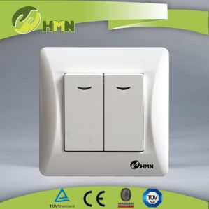 TUV European Standard 2 Way LED Switch pictures & photos