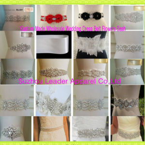 Custom Bridal Waistband Belt Rhinestone Hair Band Wedding Sash pictures & photos