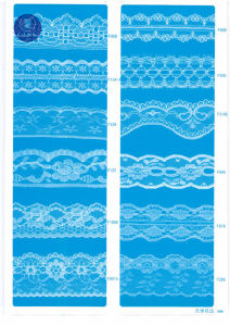 Non Elastic Lace for Clothing/Garment/Shoes/Bag/Case F231-1 (width: 1.4CMM to 24cm) pictures & photos