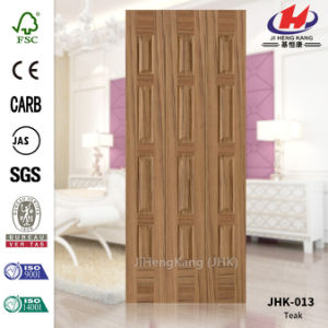N-Sapelli Walnut Veneer HDF Door Skin (JHK-013) pictures & photos