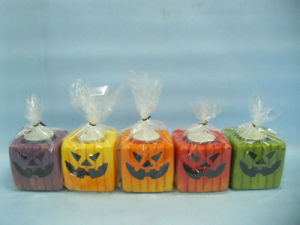 Halloween Candle Shape Ceramic Crafts (LOE2372B-7z) pictures & photos