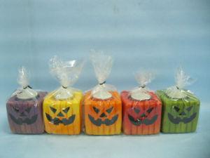 Halloween Candle Shape Ceramic Crafts (LOE2372B-7z)