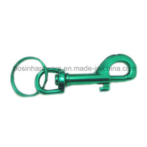 Metal Colored Swivel Snap Hook Key Ring pictures & photos
