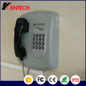 Service Telephone Knzd-04 Banking Emergency Phone Auto Dial Phone Kntech pictures & photos