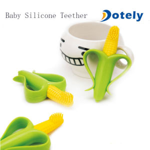 Baby Corn Silicone Teethers Toothbrush pictures & photos