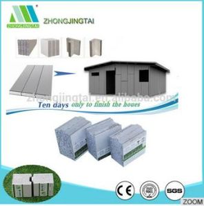 Fiber Cement Board/EPS Cement Sandwich Wall Cement Board for Office Building pictures & photos