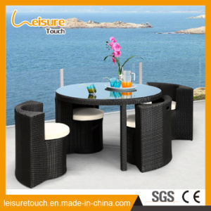 Leisure Patio Liying Room Furniture Cheap Household Rattan Arm Sofa Set for Sale pictures & photos