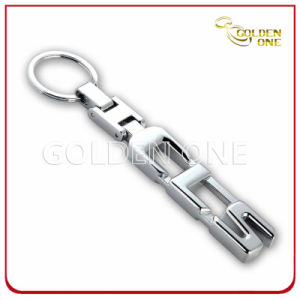 Die Cut Design Nickel Plated Metal Promotion Keyring pictures & photos