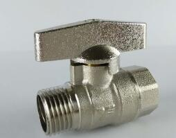 The Manual Type Brass Ball Valve (Industrial) pictures & photos
