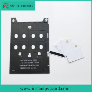 Ink Printing PVC Card Tray for Epson R1800 Inkjet Printer pictures & photos