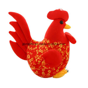 Small Cock Zodiac Chicken Doll High Quality Plush Toy pictures & photos
