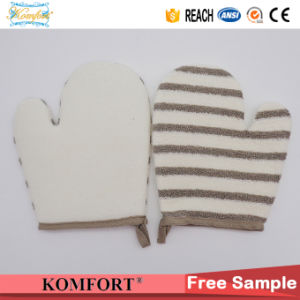 Bamboo Fiber Softtextile Bath Sponge Hand SPA Tools Bath Glove pictures & photos