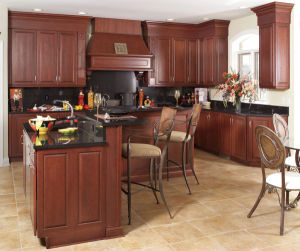Contemporary Cabinet, Solid Wood Kitchen Cabinet, Kitchen Furniture pictures & photos