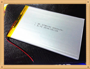 3.7 V 3790140 6000mAh Tablet PC Lithium Batteries pictures & photos