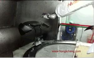 Car Bumper Robotic Painting Shop pictures & photos