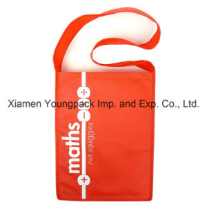 Eco Friendly Promotional Custom Printed Non Woven Polypropylene Messenger Bag pictures & photos