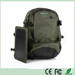 35L 6.5W Army Green Outdoor Solar Backpack Solar Charger Back Pack Bag with Removable Solar Panel for Cell Phones / 5V Devices (SB-168) pictures & photos