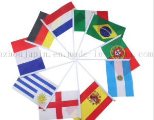 Custom Polyester Promotional Hand National Club Pub Banner Flag pictures & photos