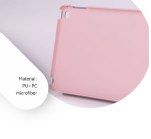 Simplicity Stylish Dirt-Resistant Foldable Flip Cover Tablet Case pictures & photos