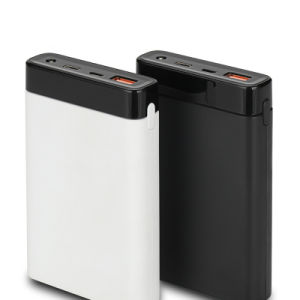 10000mAh Type-C Quick Charge Power Bank with 18650 Battery