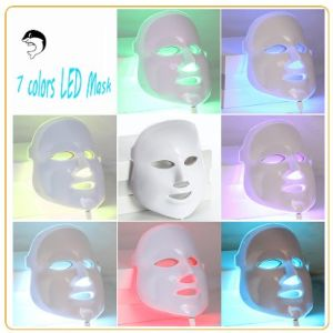PDT Photon LED Facial Mask Skin Rejuvenation Wrinkle Removal Electric Anti-Aging Improve Metabolism Therapy Beauty Machine pictures & photos