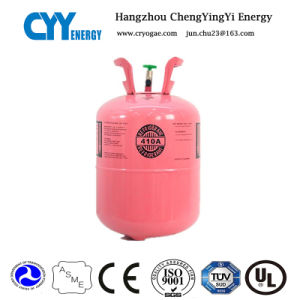 Refrigerant Gas R410A (R422D, R507) 99.8% Purity with Good Quality pictures & photos