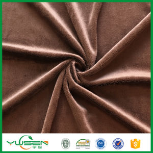 100% Poly Warp Suede Velvet Fabric for Hometextile pictures & photos