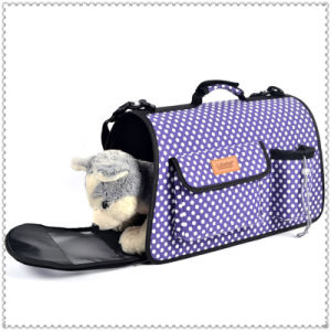 Pet Carrier Dog Cozy & Soft Puppy Cat Dog Bags Outdoor Hiking Travel Pet Bag pictures & photos