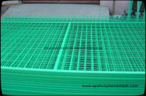 PVC Coated Galvanized Welded Wire Mesh for Garden Fencing pictures & photos