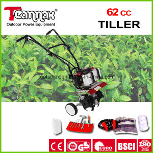 62cc Good Rating Handheld Rotary Tiller Cultivator pictures & photos