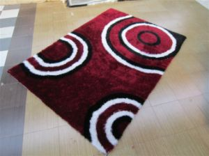 The Carpet Tile with Stretch Yarn and Silk 3D Feel pictures & photos