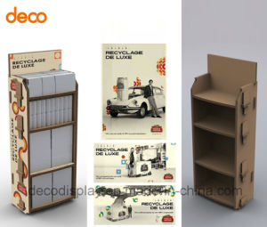 Cardbaord Paper Display Stand Floor Display Shelf for Retail pictures & photos