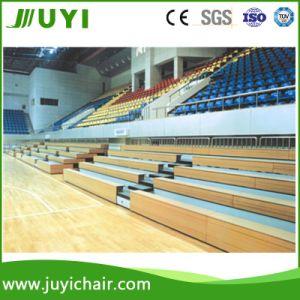Wooden Gym Bleacher Telescopic Grandstand Stadium Bleacher for Auditorium pictures & photos