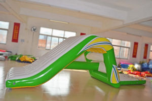 Hot Sale Water Game Inflatable Water Slide with Climbing Wall pictures & photos