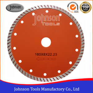 180mm Sintered Turbo Diamond Saw Blade for Granite Cutting pictures & photos