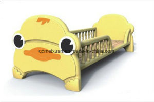 Kindergarten Special Bed Baby Lovely Bed Folding Bed with Guardrail Small Bed (M-X3737) pictures & photos