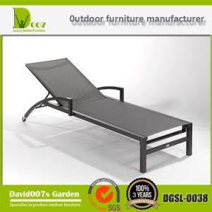 Aluminium Textilene Sling Sun Lounger, Garden Chaise Lounge, Sun Bed pictures & photos